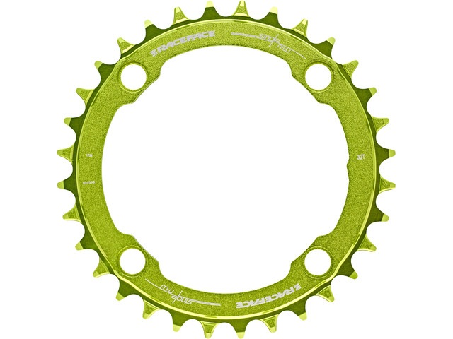 Race Face Narrow Wide Chain Ring 4-bolt 10/11/12-speed green